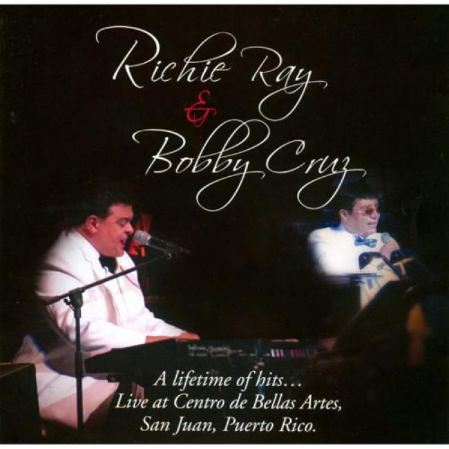 A Lifetime Of Hits... Live At Centro De Bellas Artes, San Juan, Puerto Rico (2cd)