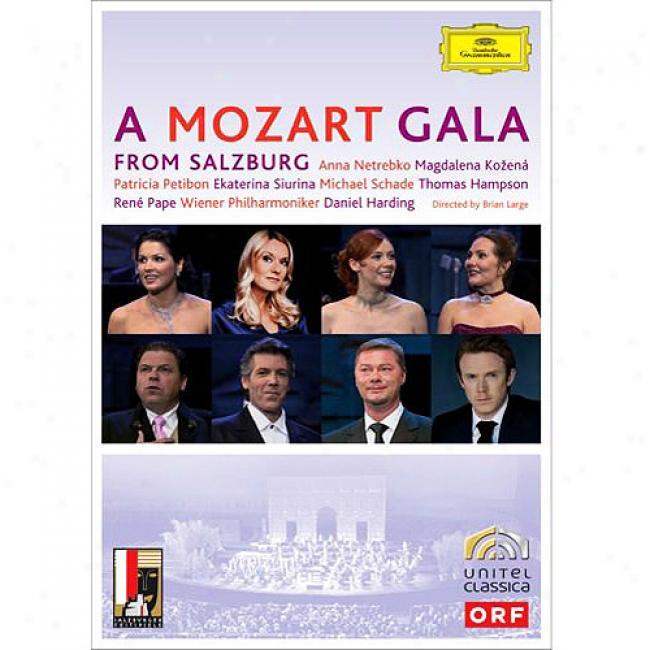 A Mozart Gala From Salzburg (music Dvd) (amaray Case)