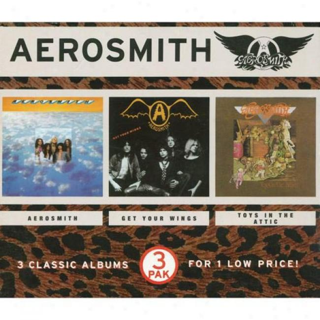 Aerosmith/get Your Wings/toys In The Attic (3 Disc Box Set)