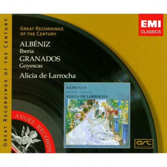 Albeniz: Iberia/granados: Goyescas (2 Disc Box Set) (remaster)