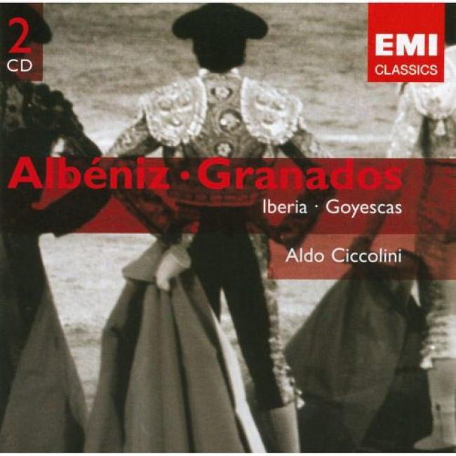 Albeniz: Iberia/granandos: Goyesczs (2cd) (remaster)