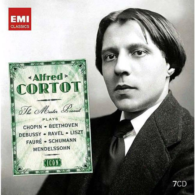 Alfred Cortot: The Master Pianist (7 Disc Box Set)