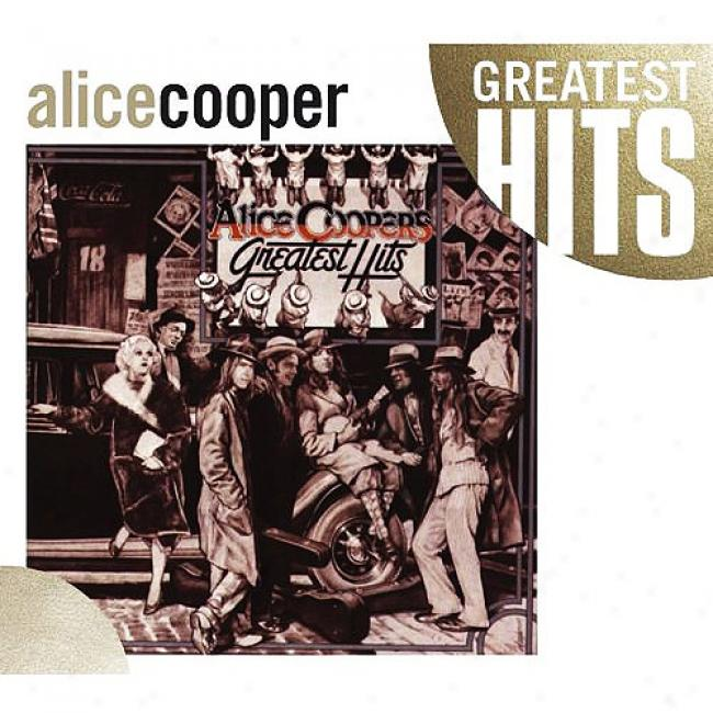 Alicw Cooper's Greatest Hits (wal-mart Exclusive) (eco-friendl yPackage)