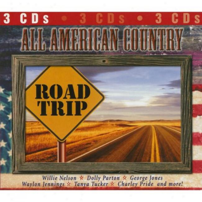 All American Country Road Trip (3cd) (digi-pak)
