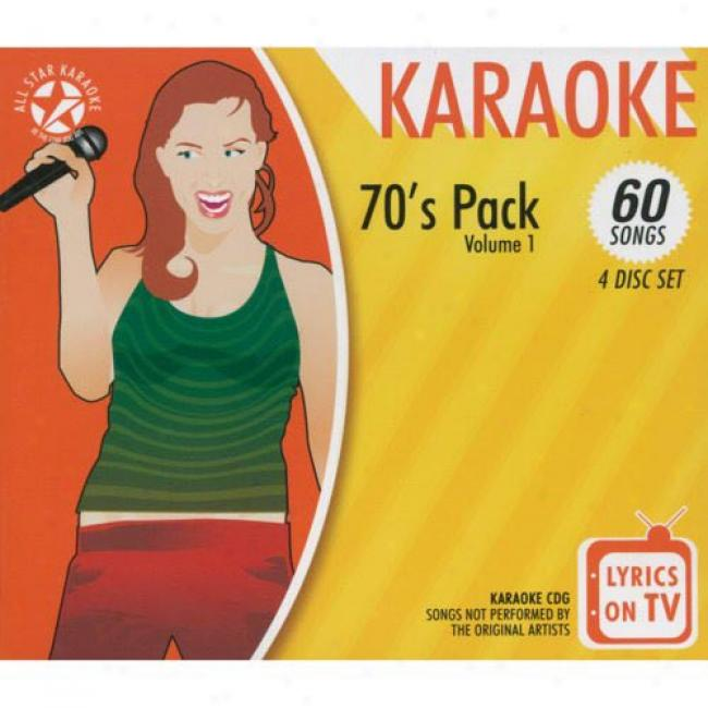All Star Karaoke: 70's Pack, Vol.1 (4 Disc Driver's seat Set)