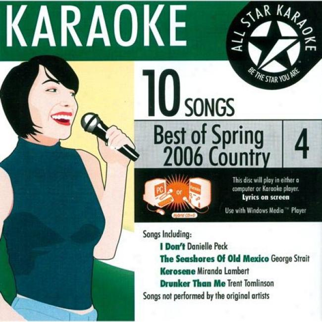 All Star Karaoke: Best Of Spring 2006 - Country 4