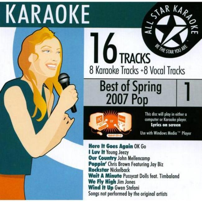 All Star Karaoke: Best Of Spring 2007 Pop, Vol.1