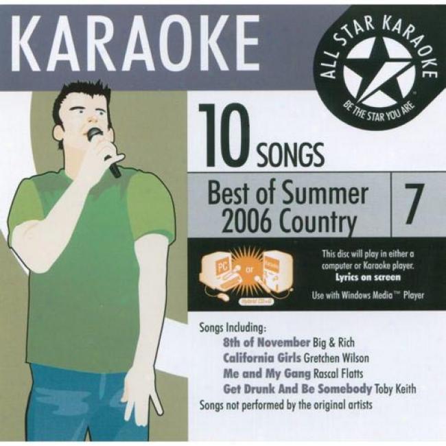 All Star Karaoke: Best Of Summer 2006 Country 7