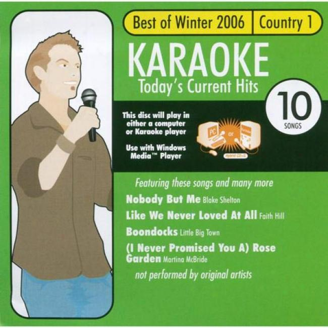 All Star Karaoke: Best Of Winter 2006 - Country 1