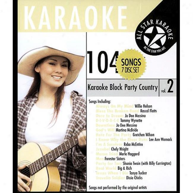 All Star Karaoke: Stoppage Party Country, Vol.2 (7 Disc B0x Set)
