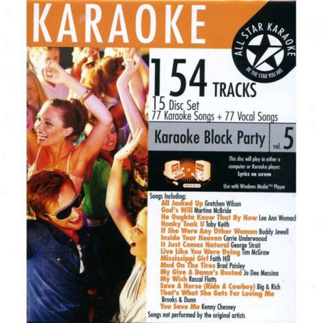All Star Karaoke: Block Party Vol.5 (15 Discs Box Set)