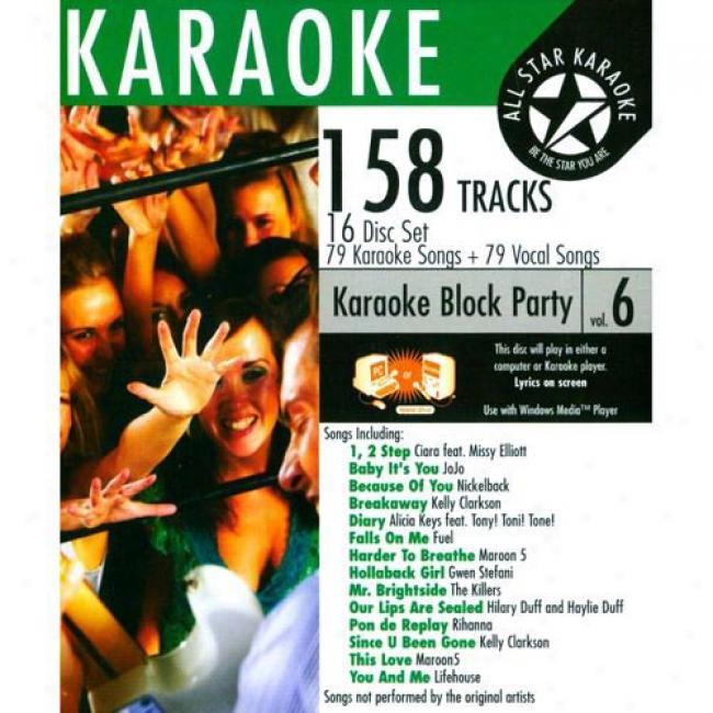 Whole Star Karaoke: Block Party, Vol.6 (16 Disc Box Set)
