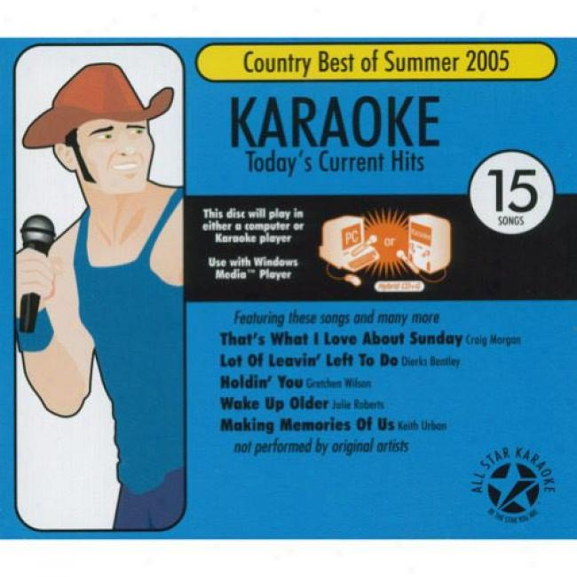 All Star Karaoke: Country Best Of Summer 2005, Vol.1 (cd Slipcase)