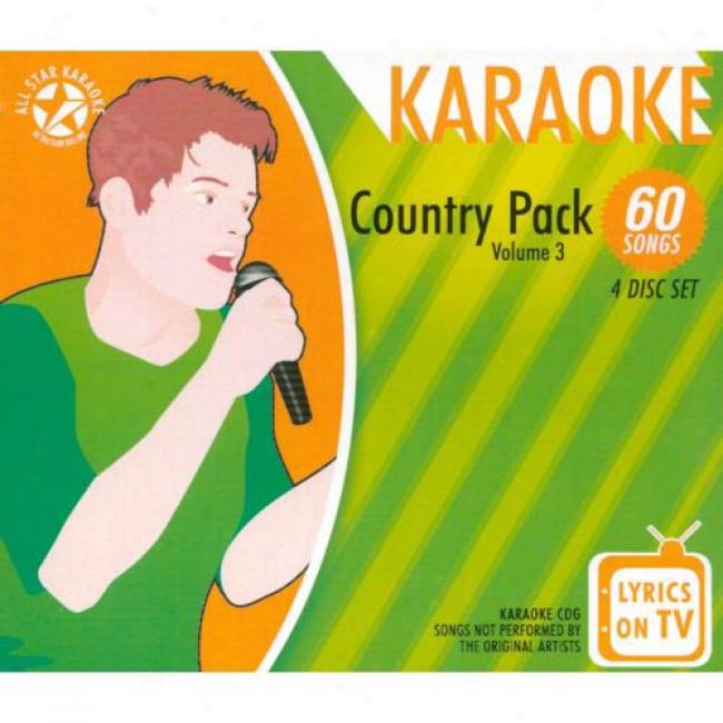 All Star Karaoke: Country Pack, Vol.3 (4 Disc Spar Stud)