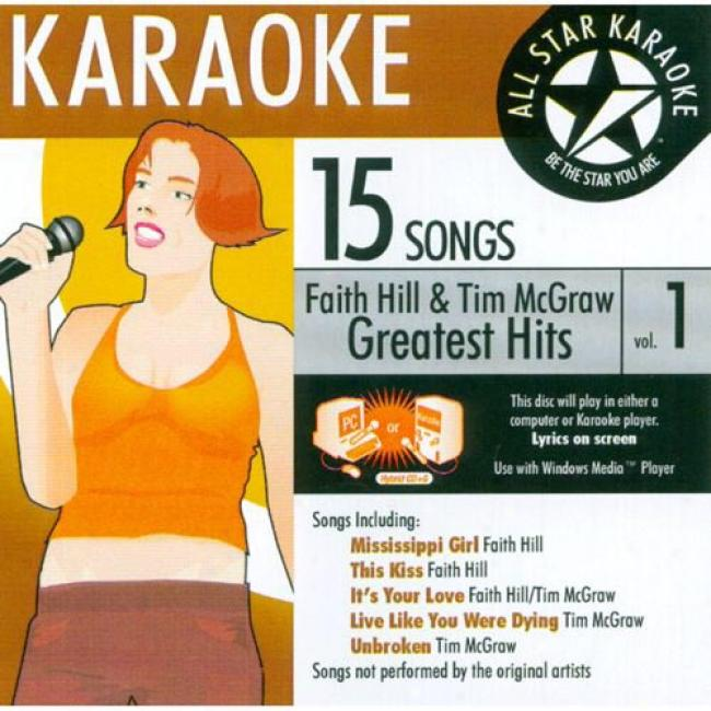 All Star Karaoke: Faith Hill & Tim Mcgraw Greatest Hits, Vop.1