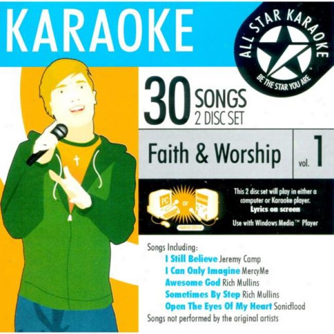 All Star Karaoke: Faith & Woship, Vol.1 (2cd)
