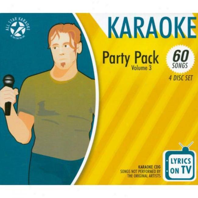 All Star Karaoke: Party Pack, Vol.3 (4 Disc B0x Set)