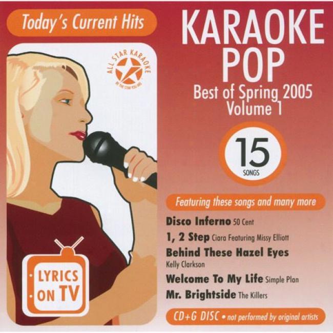 All Star Karaoke: Pop Best Of Spring 2005, Vol.1