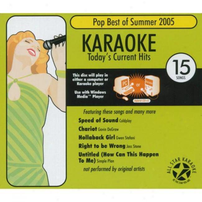 All Star Karaoke: Pop Utmost Of Summer 2005, Vol.1 (cd Slipcase)