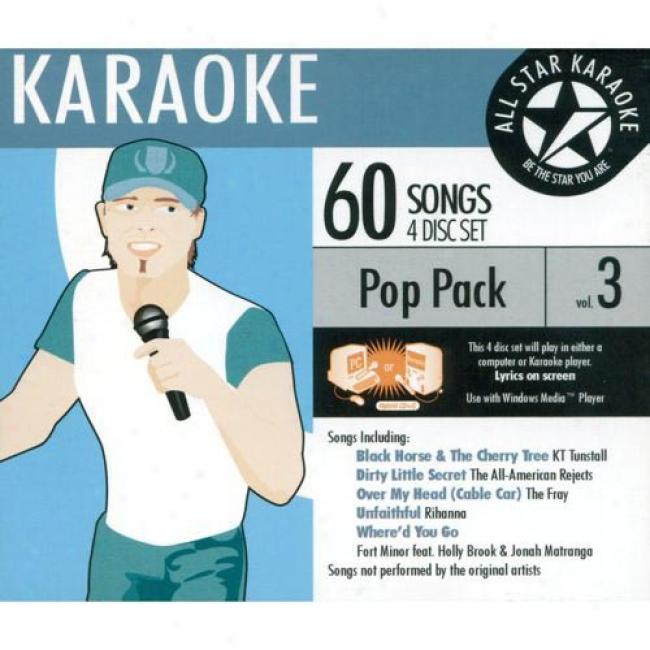 Alo Star Karaoke: Pop Burden, Vol.3 (4 Disc Box Set)