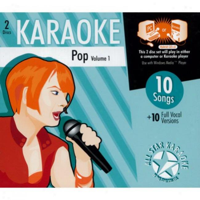 All Star Karaoke: Pop, Vol.1 (2cd) (cd Slipcase)