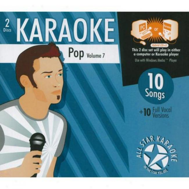 All Star Karaoke: Pop, Vol.7 (2cd) (cd Slipcase)