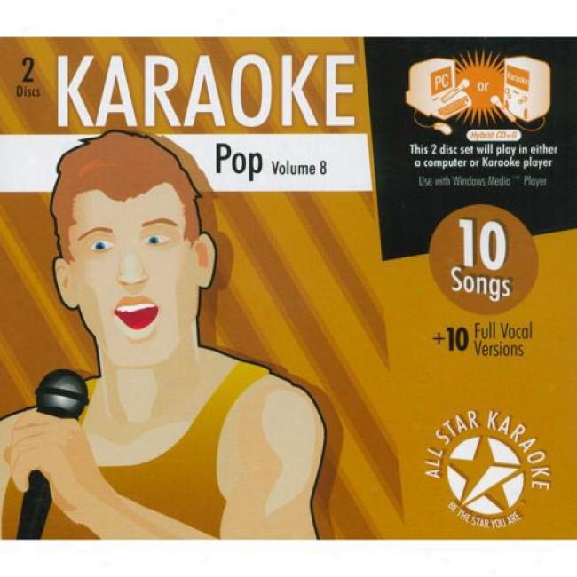 All Star Karaoke: Pop, Vol.8 (2cr) (cd Slipcase)