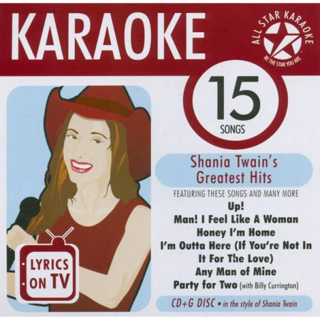 All Star Karaoke: Shania Twain's Greatest Hits
