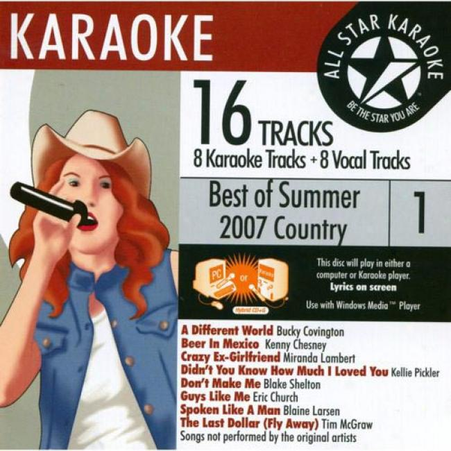 All Star Karaoke: The Best Of 2007 Country, Vol.1