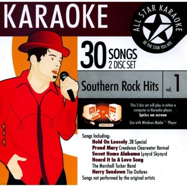 All Star Karoke: Southern Rock Hits, Vol.1 (2cd)