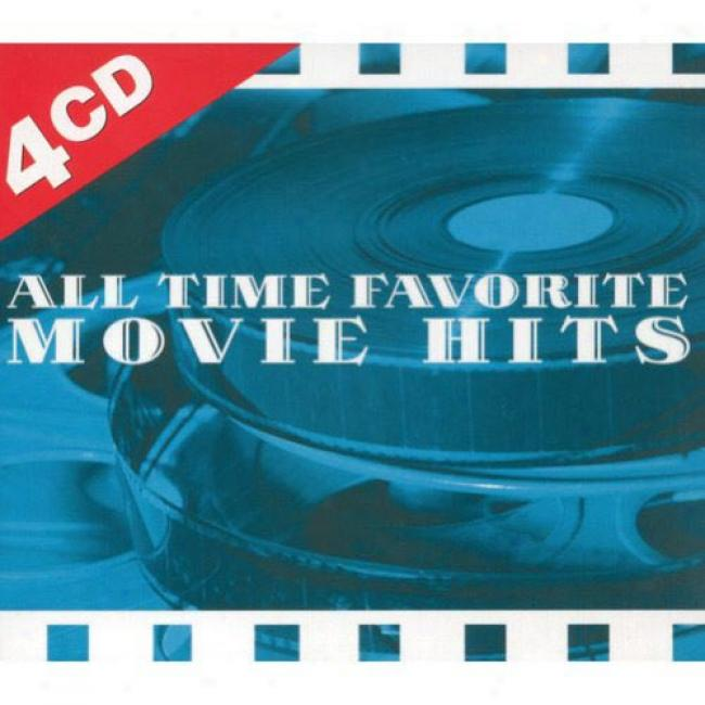 All Time Favorites Movie Hits (4cd) (digu-pak)