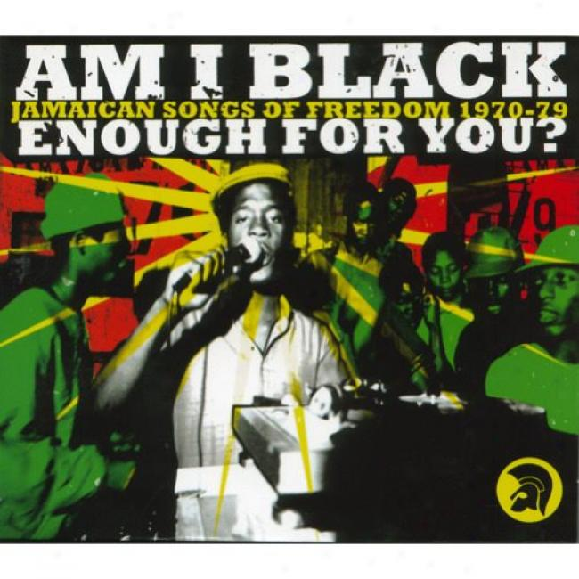Am I Black Sufficiency For You?: Jamaican Songs Of Freedom 1970-79 (cd Slipcase) (remaster)