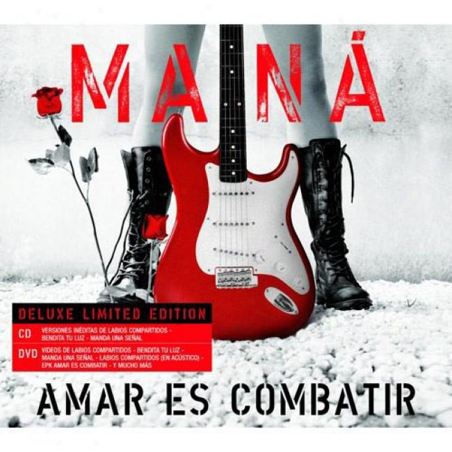 Amar Es Combatir (limited Edition) (includes Dvd) (digi-pak)