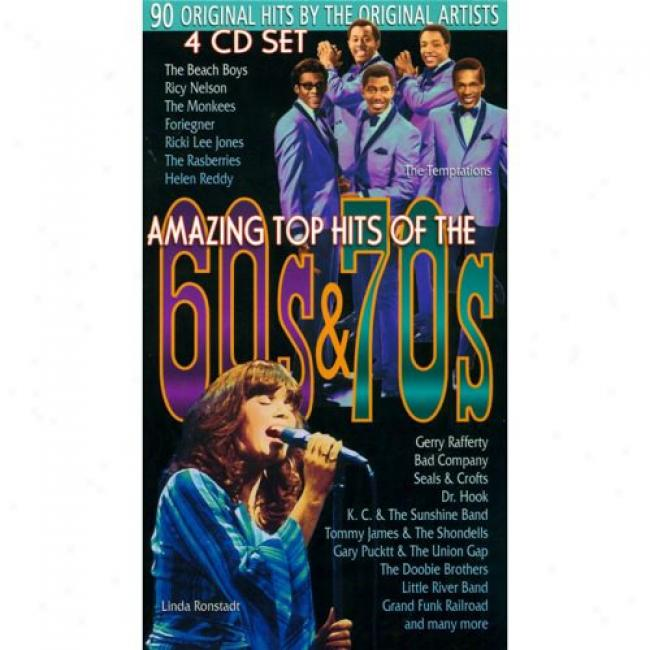 Amzzing Top Hits Of The 60s & 70s (4 Disc B0x Set)