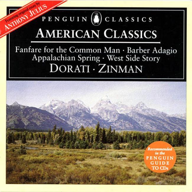 American Classics - Copland, Barber, Et Al/ Dorati, Et Al