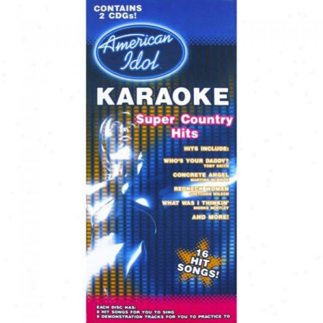 American Idol Karaoke: Super Country Hits (box Set)