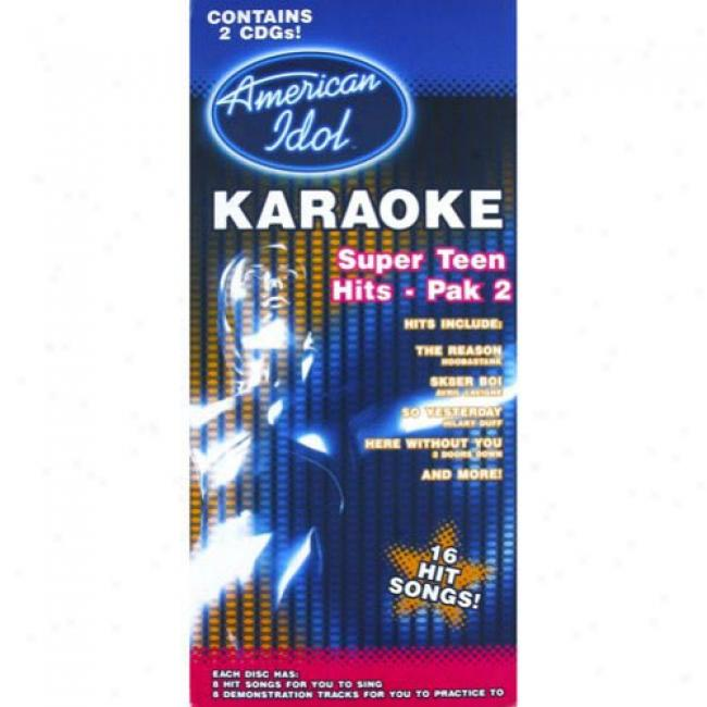 American Idol Karaoke: Super Teen Hits - Pak 2 (box Set)