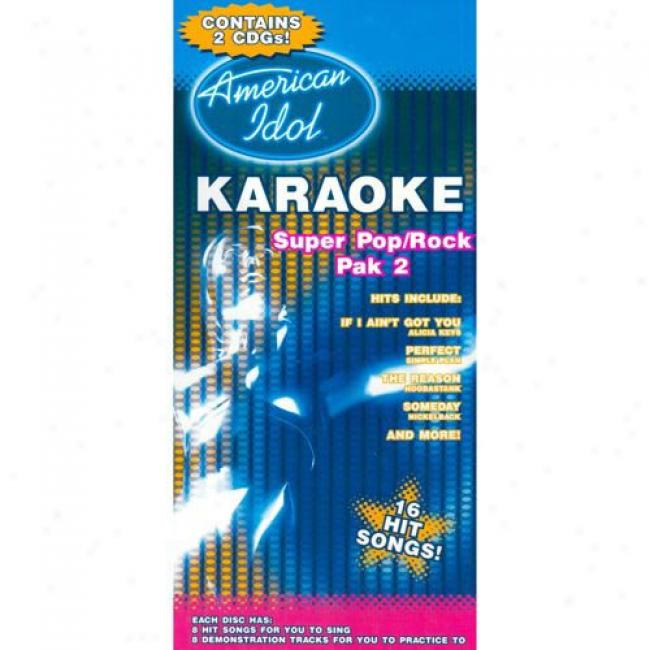 American Idol: Super Pop/rock, Pak 2 (2 Disc Box Set)