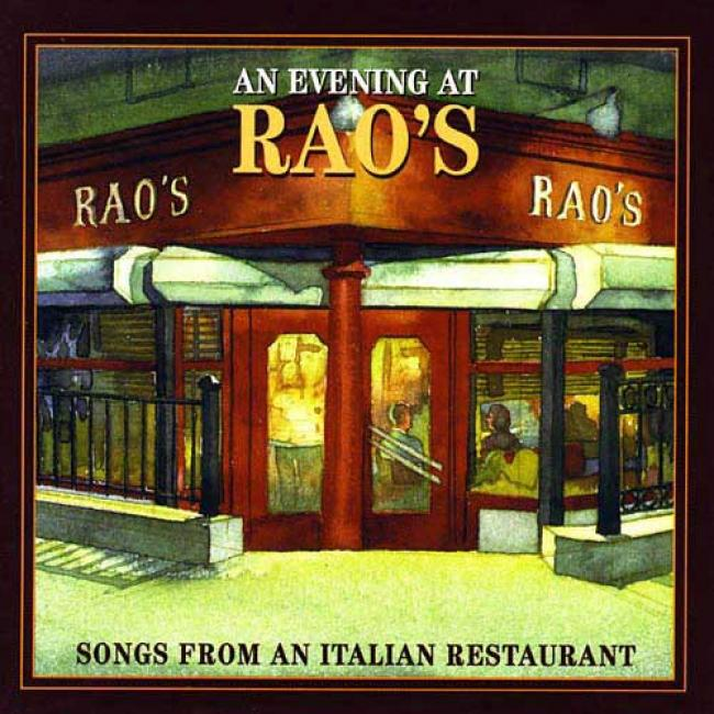 An Evening At Rao's: Songs From An Italian eRstaurant