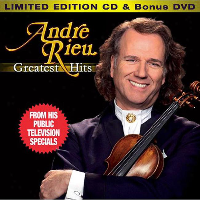 Andre Rieu: Greatest Hits (limited Edition) (includes Dvd)