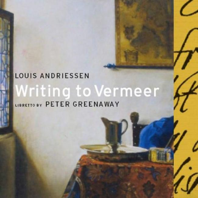 Andreissen: Writing To Vermeer (2cd) (cd Slipcase)