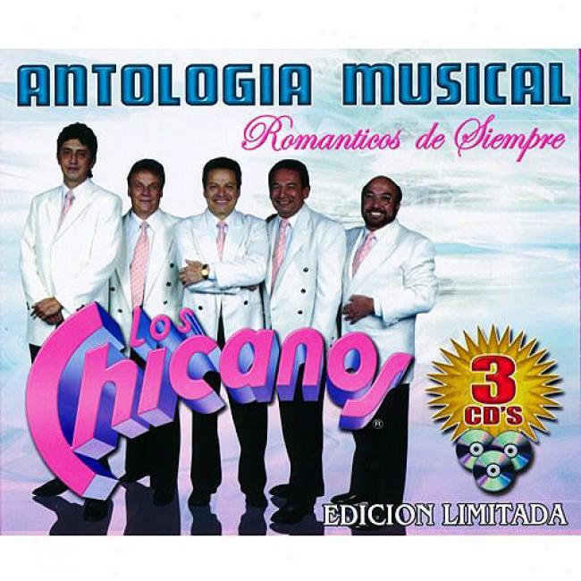 Antologia Musical: Romanticos De Siempre (limited Edition) (3cd)