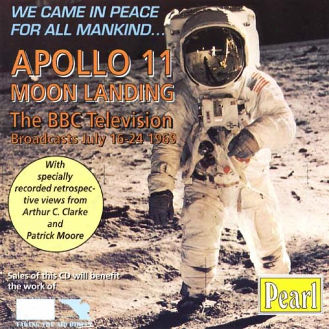 Apollo 11 Moon Landing: The Bbc Television Broadcasts July 16-24 1969