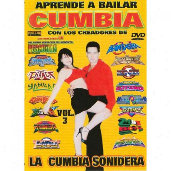 Aprende A Bailar Cumbia Con Los Creadores De La Cumbia Sonidera (music Dvd/cd) (amaray Case)