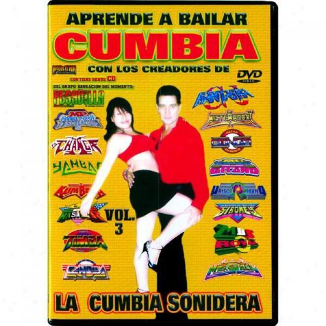 Aprende A Bailar Cumbia, Vol.3 (music Dvd/cd) (amaray Case)