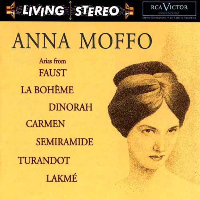 Arias From Faust/la Boheme/dinorah/carmen/semiramdie/turandot/lakme