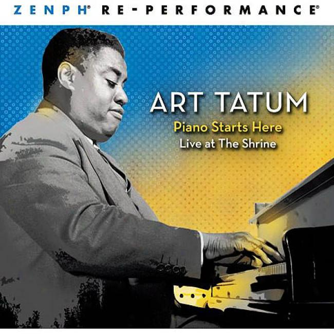 Art Tatum: Piano Starts Here - Live At The Shrine