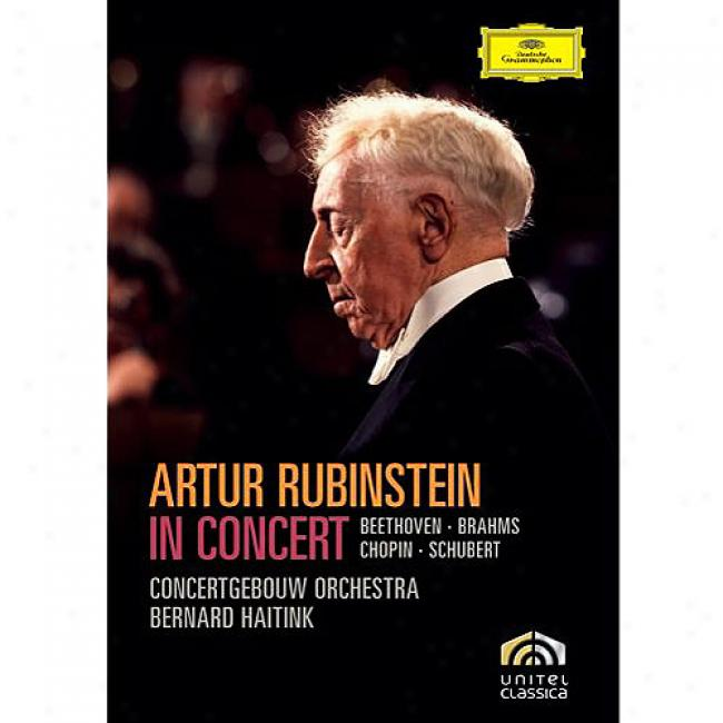 Artur Rubinstein In Concert (music Dvd) (amaray Case)