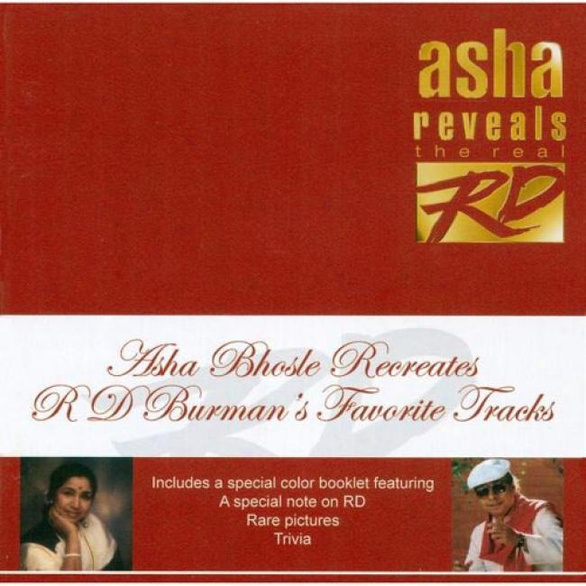 Asha Bhosle Recreates Rd Burman's Favorite(2cd)
