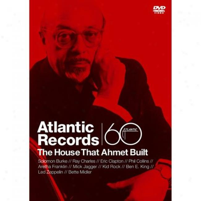 Atlantic Records: The Shelter That Ahmet Built (music Dvd) (amaray Case)